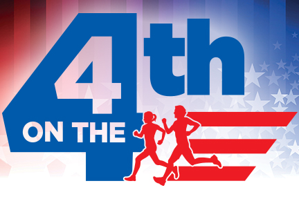 4 on the 4th Logo