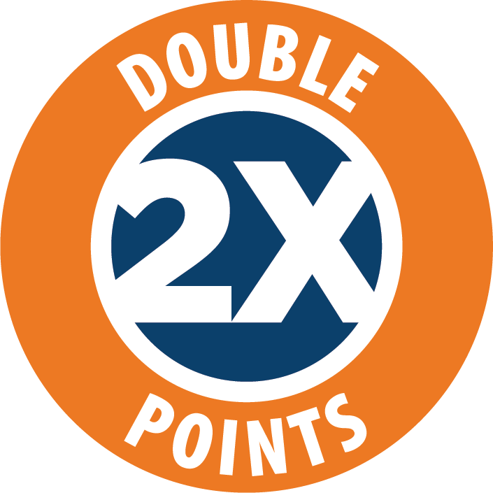 double points logo