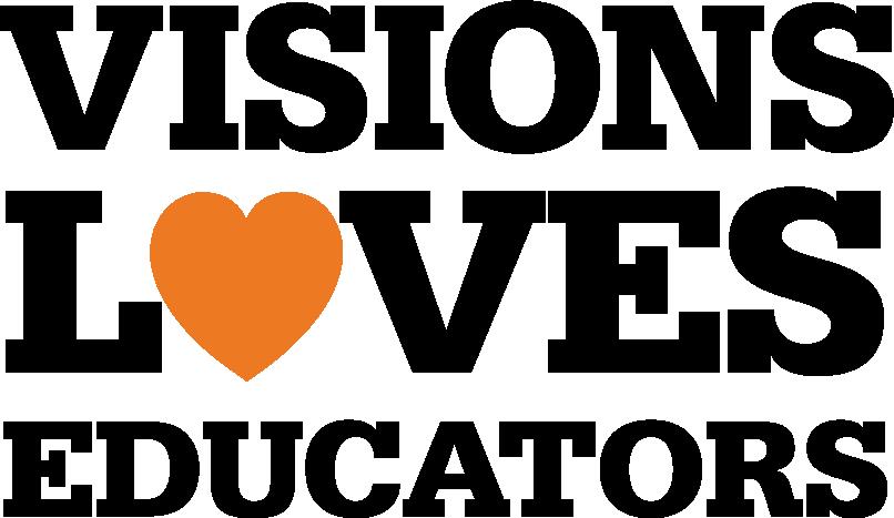 Visions Loves Educators logo