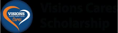 Visions Cares Scholarship logo