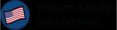 Visions Salutes Scholarship logo