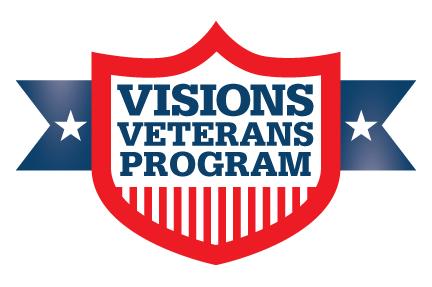 Visions Cares Veterans Logo